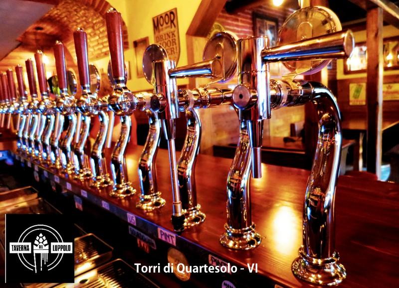 Photo of A Torri di Quartesolo .. la Taverna del Luppolo. In società con malto, acqua e lievito ..