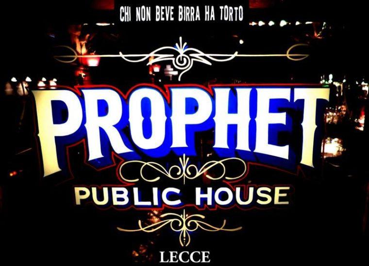 """Photo of Prophet Pub – Lecce: chi non beve birra ha torto. Dal libro del """"profeta"""" Simone .."""